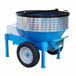 RMR230 Lime Mortar Roller Pan Mixer