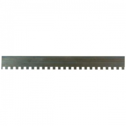 "11"" Blade, Square Serrations for Notched Trowels & Levellers"
