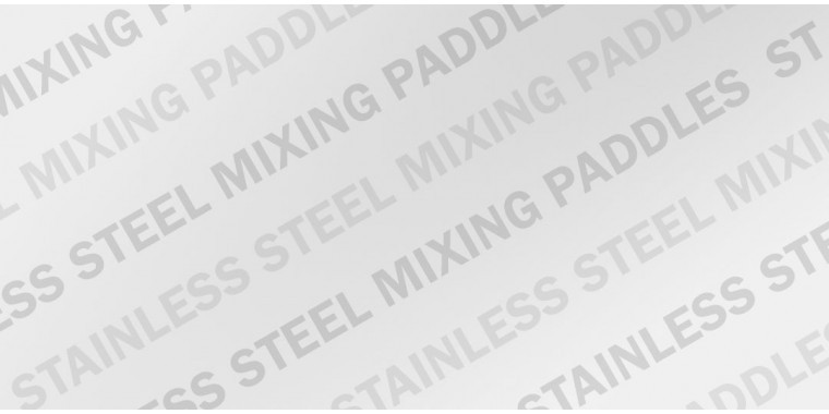 REFINA stainless steel paddles for industrial use with mixer drill