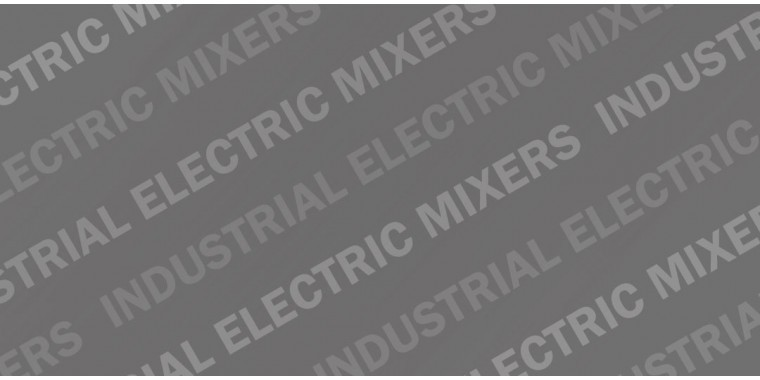 REFINA industrial mixers are electric mixers with stands and brackets