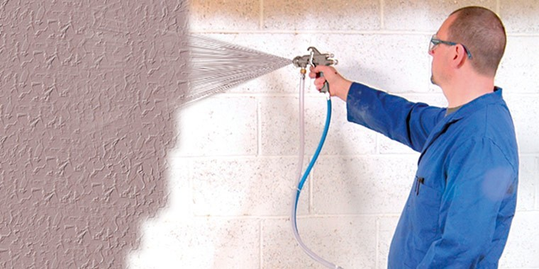 Paint spray pots and spray guns for paint and coatings