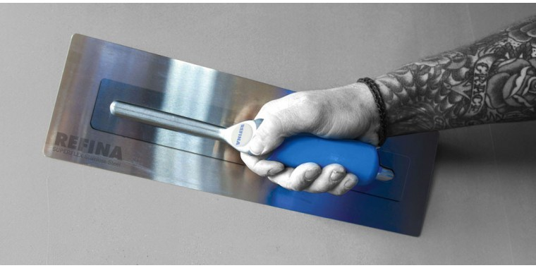 The original Superflex. Our best selling stainless steel trowel