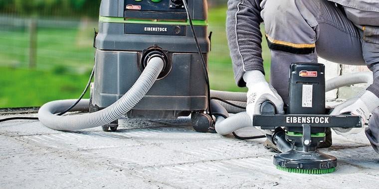 REFINA EIBENSTOCK machines for grinding, polishing & sanding