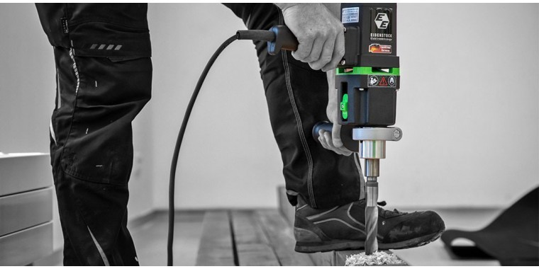 EIBENSTOCK slow speed high torque engineers and carpenters drills