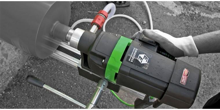 EIBENSTOCK powerful rugged rig mounted core drilling units
