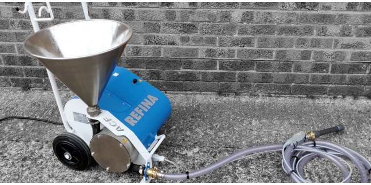 REFINA Hopper feed screw pumps and grout pumps