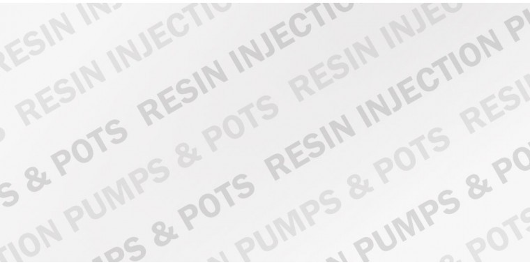 Resin injection hand pumps and resin pot