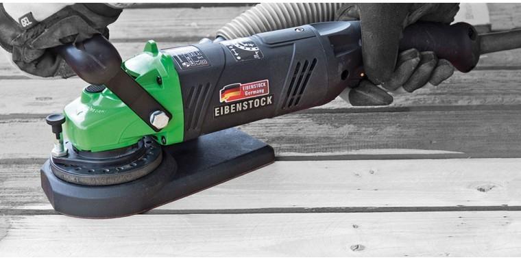 Eibenstock EOF100 coating shaver for wooden surfaces