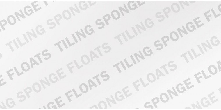 Tiling and grouting sponge floats available from REFINA