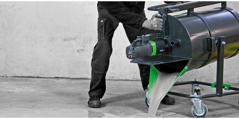 EIBENSTOCK mobile mixers for floor coatings