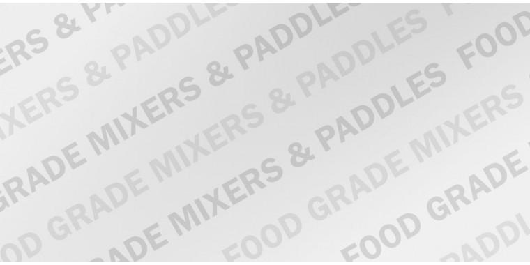 Cordless food mixer drill and paddles