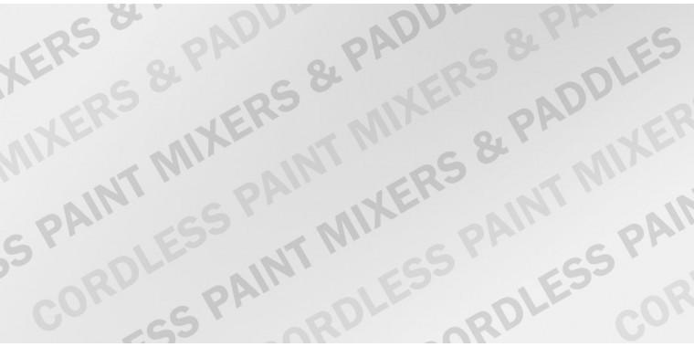 Cordless Paint Mixers & Paddles
