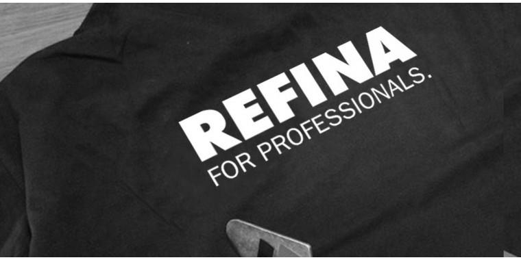 REFINA workwear range of organic t-shirts, sweatshirts, hats & pencils